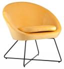 """Кресло """"Колумбия"""" (оранжевый)"""