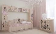 """Модульная детская мебель """"Париж"""" вар.1"""