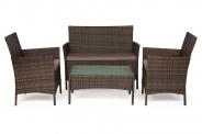 """Комплект мебели """"Лаундж сет"""" mod.210013A (коричневый)"""