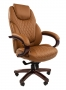 """Кресло для руководителя """"Chairman 406"""" коричневый"""