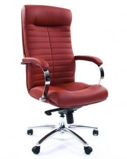 """Кресло для руководителя """"Chairman 480"""" коричневый"""