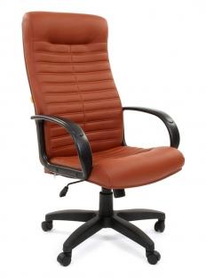 """Кресло для руководителя """"Chairman 480 LT"""" коричневый"""
