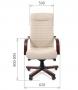 """Кресло для руководителя """"Chairman 480 WD"""" черный"""