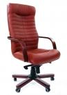 """Кресло для руководителя """"Chairman 480 WD"""" коричневый"""