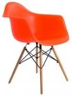 """Кресло пластиковое """"Eames DAW"""" оранжевый"""