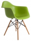 """Кресло пластиковое """"Eames DAW"""" зеленый"""