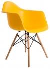 "Кресло пластиковое ""Eames DAW"" желтый"