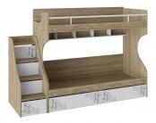 """Кровать двухъярусная с приставной лестницей """"Оксфорд"""""""