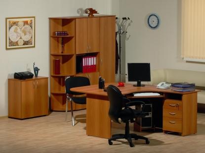 """Мебель для персонала """"Рубин"""" (миланский орех)"""