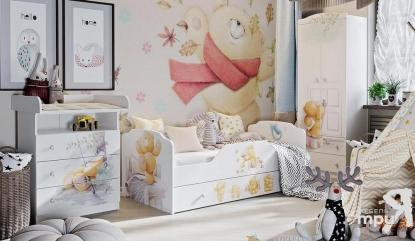 """Модульная детская мебель """"Тедди"""""""